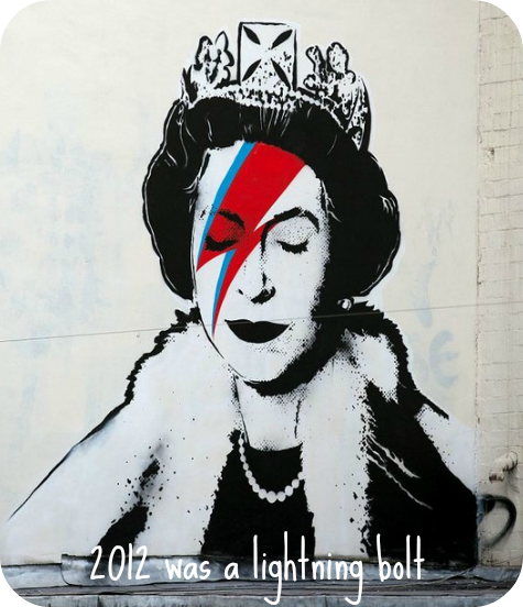 banksy david bowie lightning bolt queen elizabeth street art blog