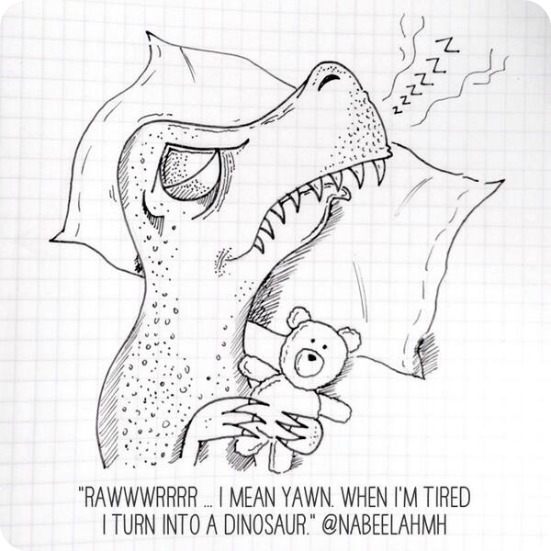 drawn your tweet dinosaur