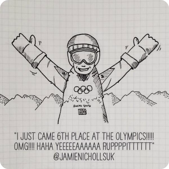 drawn your tweet olympics